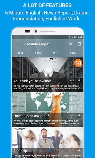 Learn English Listening: Learning English Podcast 4.4.1 screenshots 1