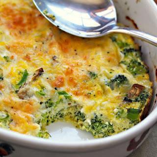 Broccoli Cheese Egg Breakfast Casserole Recipes