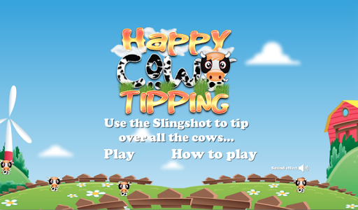 Happy Cow Tipper Slingshot