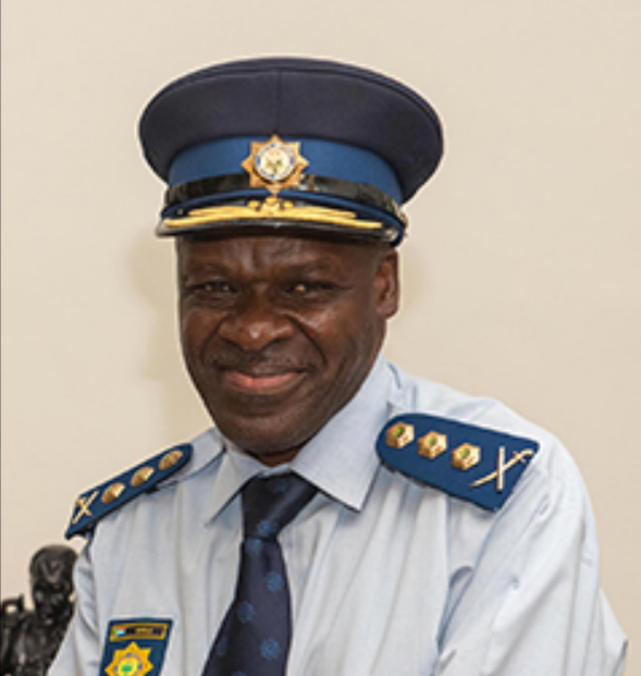 National police commissioner General Khehla Sithole