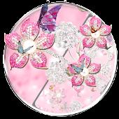 Tải Luxury Pink Diamonds Theme miễn phí