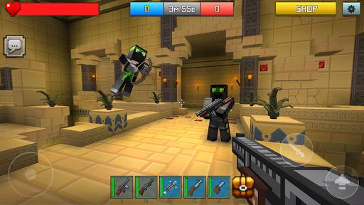 Hide and Seek -minecraft style screenshot 1