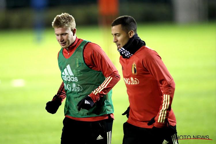 Eden Hazard et Kevin De Bruyne dans le Top 10 des joueurs les mieux payés au monde