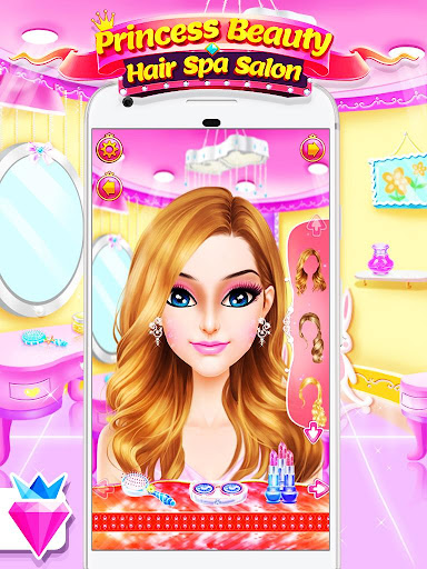 Princess Salon - Dress Up Makeup Game for Girls 1.0.5 screenshots 1