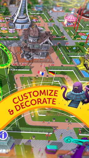 Cheat RollerCoaster Tycoon Touch Mod Apk, Download RollerCoaster Tycoon Touch Apk Mod 3