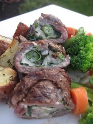 Rachael Ray's Flank Steak Pinwheels Recipe  - Food.com
