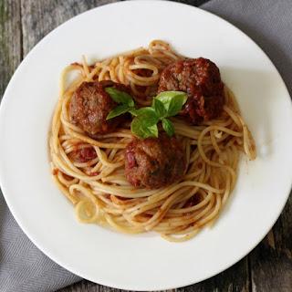 Italian Meatballs andSpaghetti