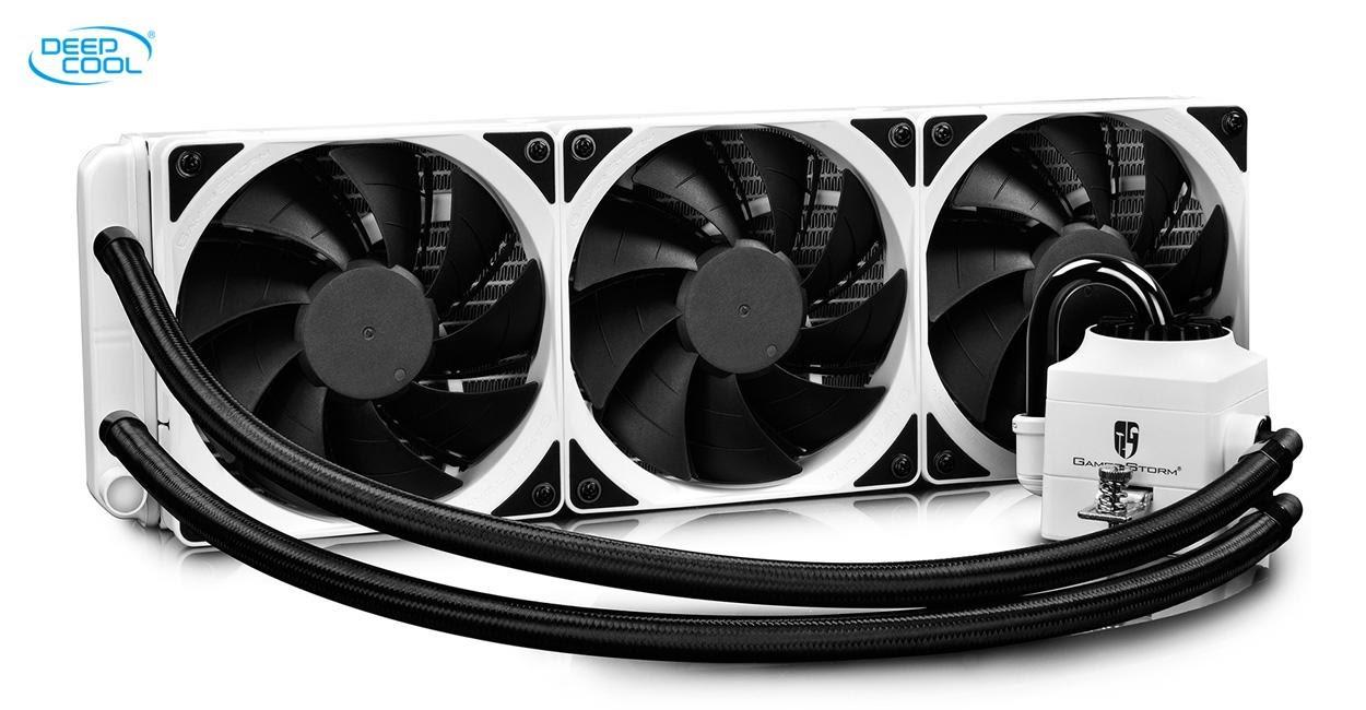 Deepcool CAPTAIN 360 EX RGB Now Available in White