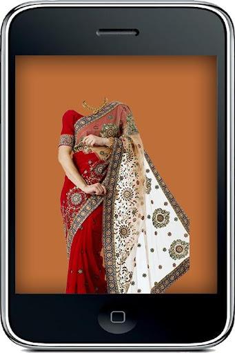 Woman Saree Style Photo