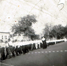 Photo: 1958 May Procession_St Cyprian Parish