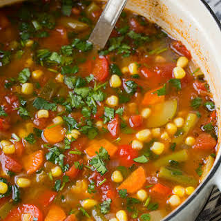 Mexican Vegetable Soup Recipes.