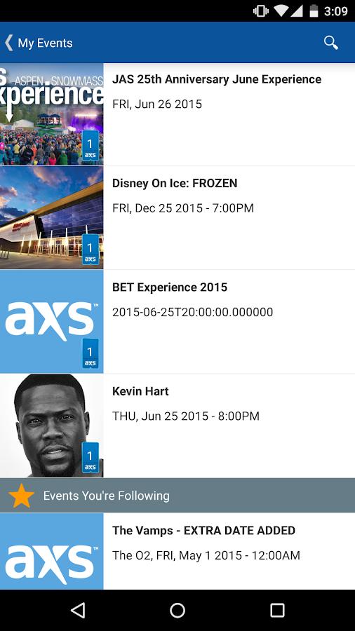 AXS - screenshot