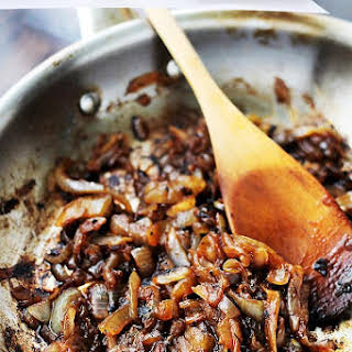 Balsamic Caramelized Onions.