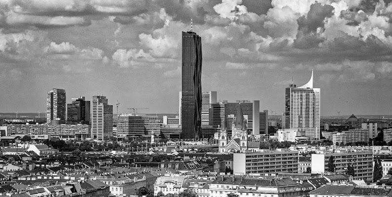Skyline di Vienna di aberini