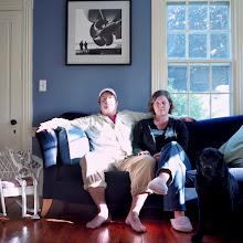 Photo: title: Peter Fallon & Sarah Devlin, Phippsburg, Maine date: 2010 relationship: friends, art, met through Chicky Stoltz years known: 15-20