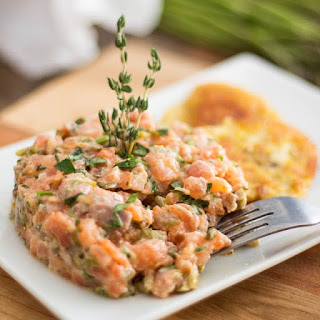 Two-Salmon Tartare.
