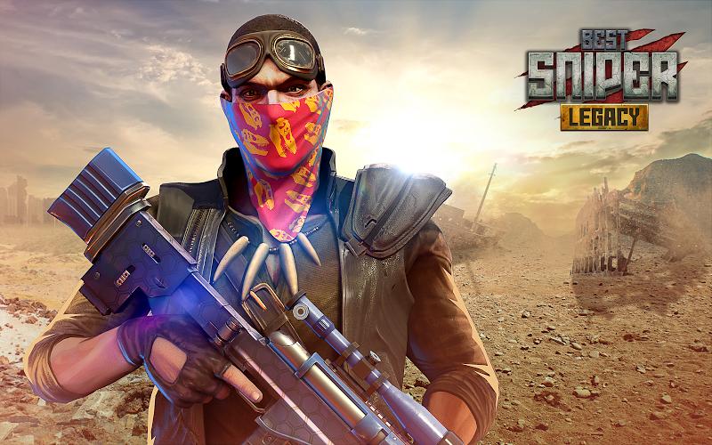Best Sniper Legacy: Dino Hunt & Shooter 3D Screenshot 12