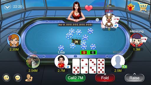 Domino QQ/99 Poker QiuQiu KiuKiu Sibo Slot Hilo 1.7.9 screenshots 3