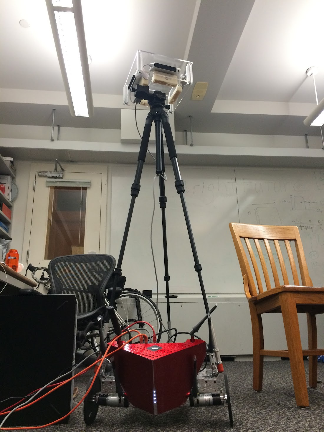 Mobot: An autonomous room-mapping robot