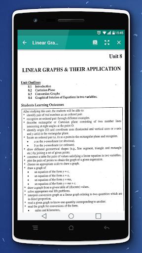 Key & Textbook Maths 9 (PTB)  screenshots 6