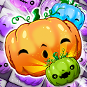 Halloween Swipe - Carved Pumpkin Match 3 Puzzle icon