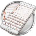 Dialer FrameWhite Bronze Theme icon
