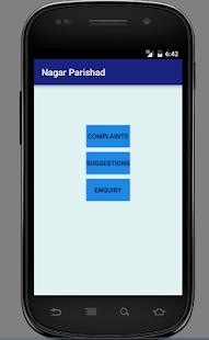 Nagar Parishad screenshot