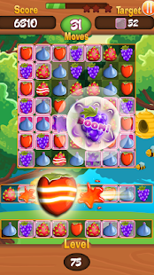 Fruit Rio Splash: Match 3 Pro Screenshot