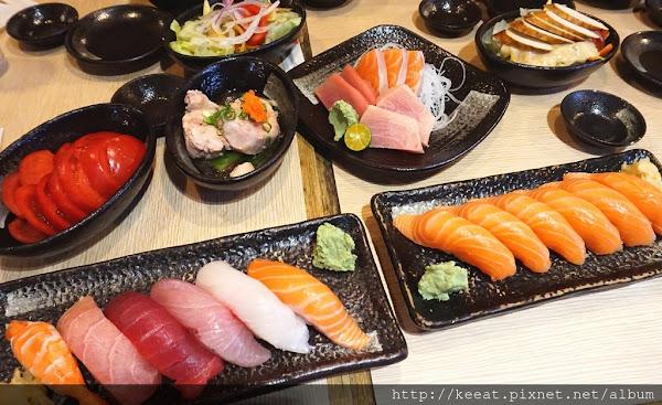 一訪再訪 超高人氣的平價日式料理-躼腳日式料理@捷運中山國中站@松山機場