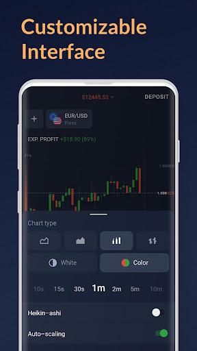 IQ Forex Broker u2013 Trading platform  Paidproapk.com 2
