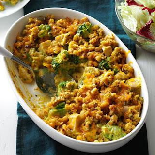 Contest-Winning Broccoli Chicken Casserole.