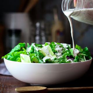 Greek Yogurt Horseradish Ranch Dressing.