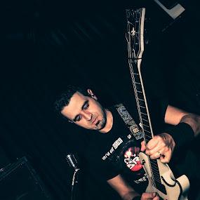 Guitar Focus by João Pedro Ferreira Simões - People Musicians & Entertainers ( music, band, drm, speaker, guitar, venue, live )