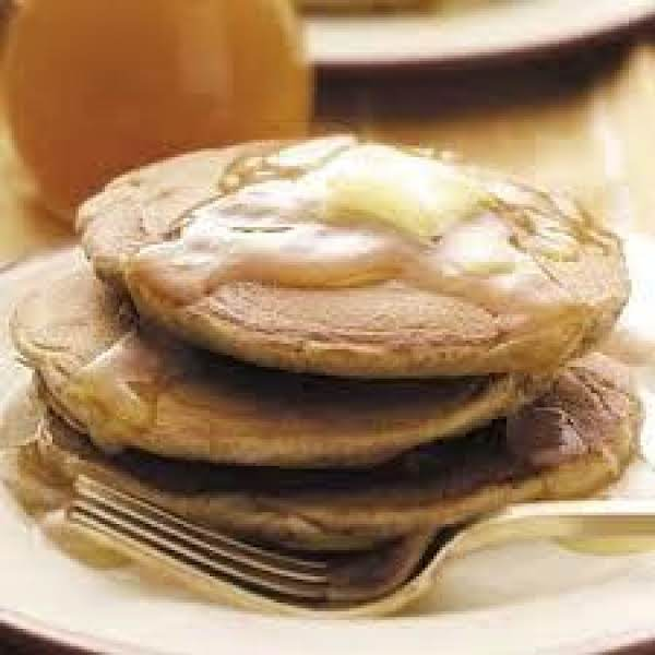 Buttermilk Apple Spice Pancakes Recipe