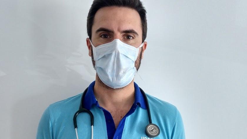 Miguel Molina Gracia, médico interno residente en La Cañada.