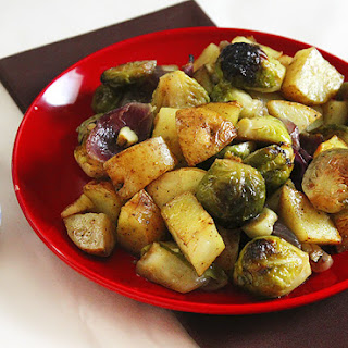 Curry Flavored Brussels Sprouts.