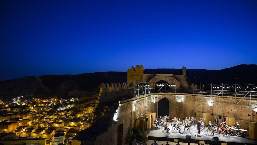 El tercer recinto de la Alcazaba fue el escenario.