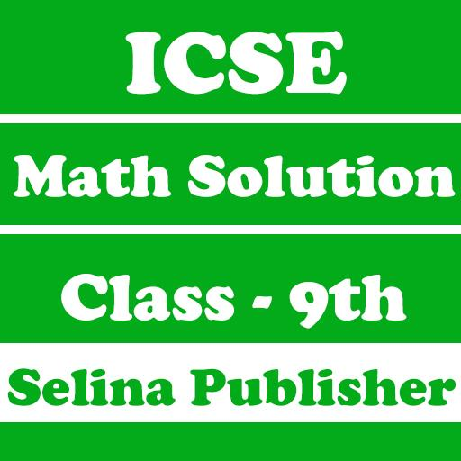 ICSE Selina Class 9 Math Solution - Offline Access - Apps on