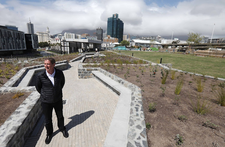 V&A Waterfront CEO David Green at Battery Park on Wednesday Spetember 26, 2018. Picture: ESA ALEXANDER