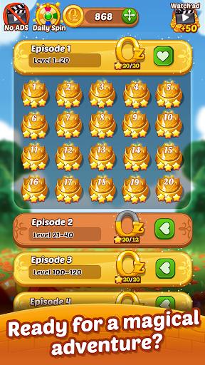 Matching Magic: Oz - Match 3 Jewel Puzzle Games screenshot 6