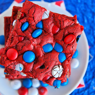 Red, White and Blue Bars Recipe