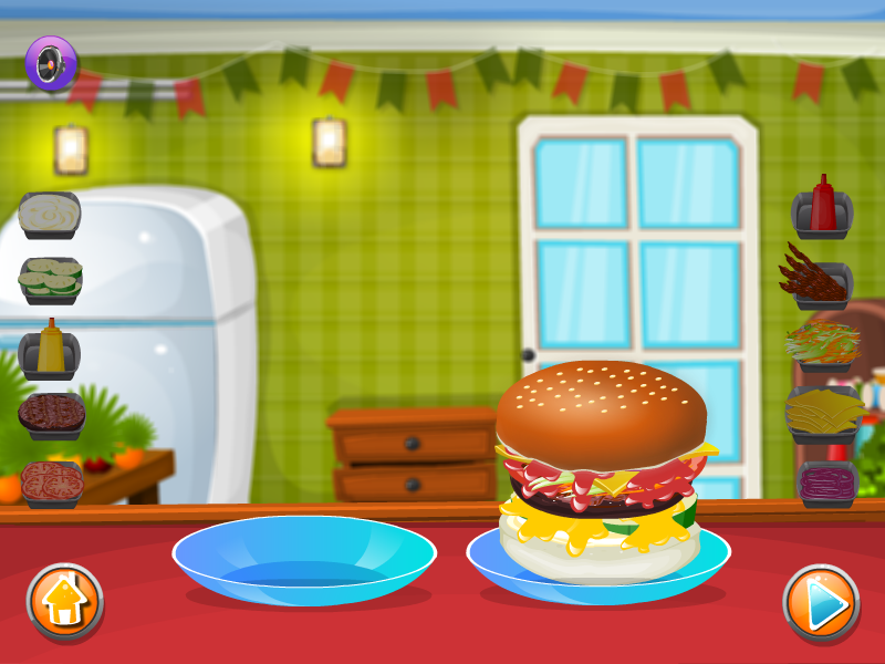 Make a HamBurger- screenshot