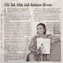 Photo: Warta Jateng article  December 20 2012  Here's a great online write up from the same day and another reporter: http://nasional.kompas.com/read/2012/12/18/18101977/Hidup.Lebih.Nyaman.Menjadi.Vegan  Use Google Translate for English speakers: http://translate.google.com/  There were 8 reporters from various newspapers in Jogja & Magelang, Central Java, Indonesia who interviewed me on the day about being vegan, my adventures in SE Asia and the upcoming events I was speaking and giving food demos at.