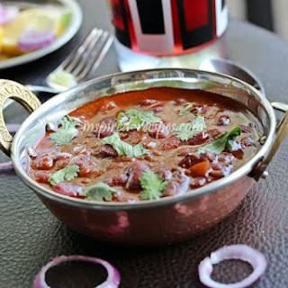 Rajma Masala (Spicy Red Kidney Beans).