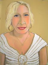 Photo: Portrait of Nicole Acrylic on BFK Rives
