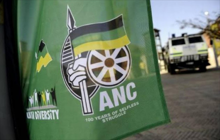 A file photo of the ANC flag. The DA says that while thousands of land claims had not been settled' the ANC government was withholding the transfer of 1.4 million hectares of land' worth R8.6-billion' to its rightful owners.