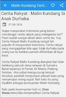 Malin Kundang Cerita Rakyat - náhled