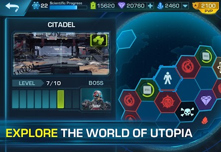 Evolution 2: Battle for Utopia. Action shooter App Latest Version Download For Android and iPhone 4