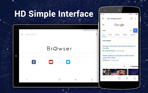 Browser for Android 1.3.3 screenshots 9