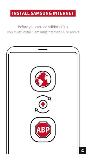 Adblock Plus for Samsung Internet - Browse safe. 1.2.1 screenshots 8